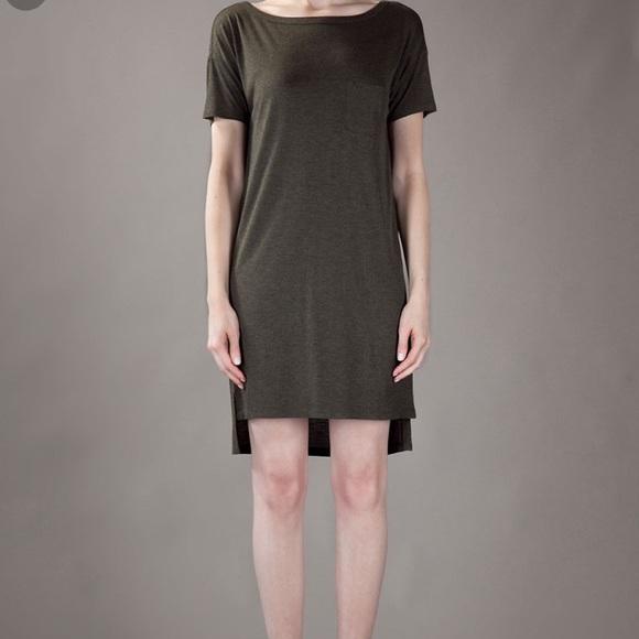 bfd46cd1f45 T Alexander Wang shirt dress. M 5b00bf692ae12f52e2078957